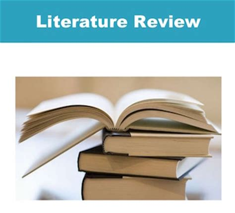 Writing a Literature Review - University of Guelph Library