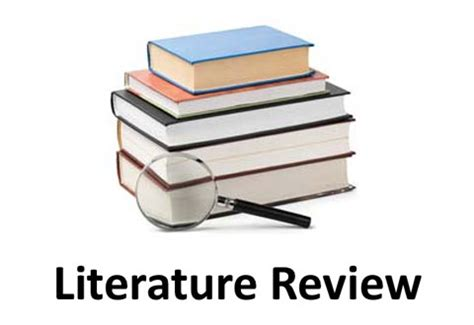 Research in literature review